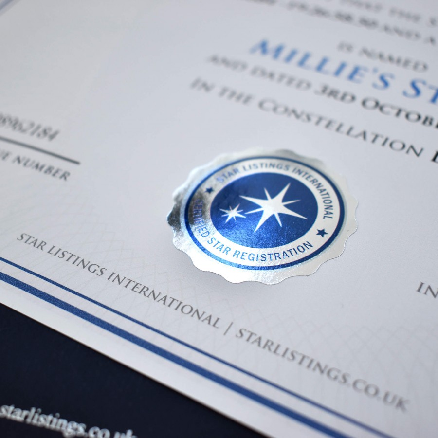 Name a Star - Introductory Gift Set